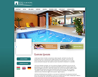 Website design - Hotel Visegrad