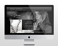 David Yurman Holiday Website