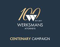 Werksmans Centenary Campaign Branding
