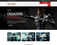 WS Games WooCommerce WordPress theme