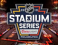 2019 NHL Stadium Series Event Brand