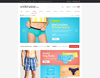 Under Garments Ecommerce Store