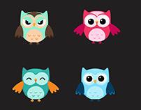 I will design owl in illustrator