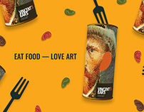 Eat Art. Vincent`s Ears