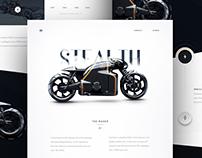 Lotus Superbike Landing Page