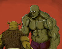 Hulk Vs Shrek
