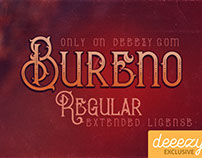 Bureno Regular - Free Font