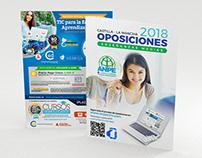 Tríptico ANPE Oposiciones Enseñanzas Medias 2018