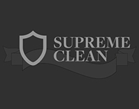 Supreme Clean Branding and Web Design/Developement