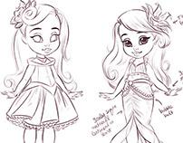 My First Princess + Baby Dolls - Jakks/Disney
