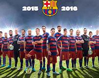 FCBarcelona Poster 2015-2016