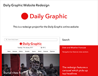 Daily Graphic Website Redesign