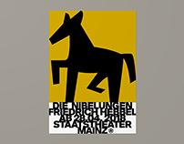 Staatstheater Mainz – Die Nibelungen (Poster)