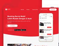 Landing Page 2 Auto Website