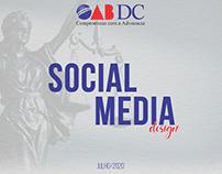 Social Media - OAB DC - Julho/2020