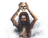 Various Characters From Kumbh Mela