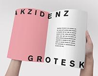 Akzidenz Grotesk - Typefont Book