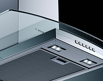 Bosch Glass Hood - CGI & Retouching