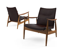 3d model: Rivage Easy Chair by Ritzwell