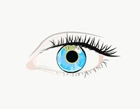 Drawing the Eye in Adobe Illustrator Draw