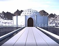 Greek Built on Cinema4D
