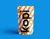 Kopi Coffee Packaging Design and Identity