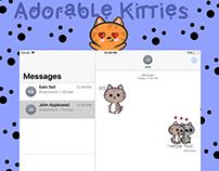 Adorable Kitties Imessage Sticker Pack