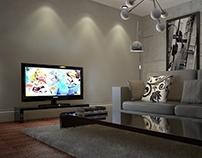 Modern Room   Cinema 4d Vray