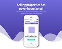 Echonize App - Landing Page