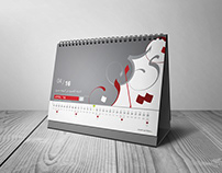 Calligraphy - Desk Calendar