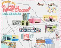 Maps for #StudioDIYWallCrawl