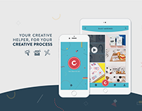 The Creative Dot – Application Website