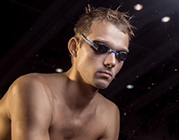 Paralympic champion swimming Igor Boki