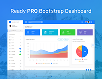 Ready PRO Bootstrap Dashboard