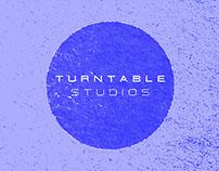 Turntable Studios Brand Identity