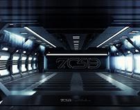 Sci Fi Corridor Consept