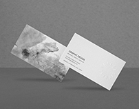 Photorealistic Business Card Mock-Up 2.0