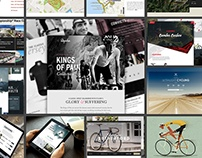 Road Racing App Inspiration Moodboard