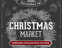Christmas Event Flyer Template