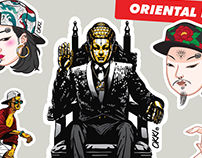 Oriental Renaissance : Art Sticker Project