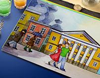 Календарь для банка «Таврический»