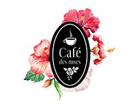 Café Des Roses / Branding