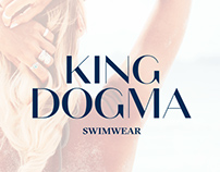 King Dogma Swimwear - Identidad de marca