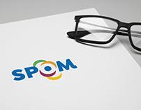 SPOM Logo & identity