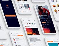 Socio social IOS app ui kit