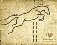 Jumping Horse Logo Graphic