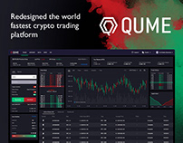 Qume — world fastest crypto trading platform