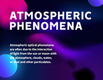 Atmospheric Phenomena - Experimental Website