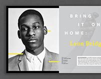 Leon Bridges // Repurpose Magazine
