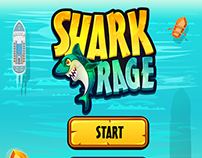 Shark Rage Small Game App